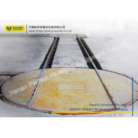 China Poly Directional Movement Material Handling Turntable With Two Cross - Rails wholesale