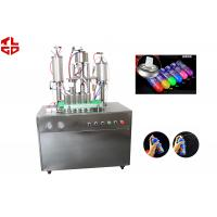 China Snow Sprays / Party Strings Semi Automatic Aerosol Filling Machine In Party , Wedding , Festival wholesale