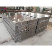 Buy cheap Thermic Oil Heated Hot Press Plates 800 Ton 100 Mm Thickness Customized from wholesalers