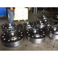 China Chemical Industry Duplex Stainless Steel Flanges ASME B16.5 RF FF RTJ 150# - 2500# 254SMO S31254 DIN 1.4547 wholesale