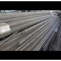 Buy cheap Metric Perforated Muffler Tubing Easy Installation Electro Polishing Surface from wholesalers