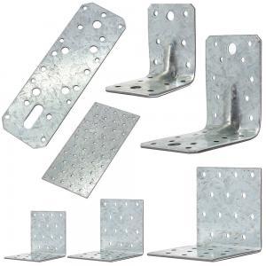 China Building Corner Galvanized Steel Angle Brackets Heat Treating High Performance wholesale