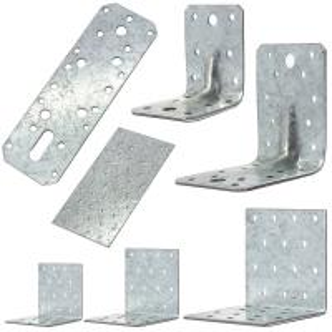 China High Performance Galvanized Steel Angle Brackets Building Corner Heat Treating wholesale