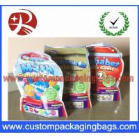 China Ziplock Candy Plastic Food Packaging Bags Stand Up With Top Zipper on sale