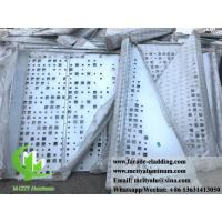 Quality 3mm Powder Coated Aluminium Cladding Panels / Aluminum Solid Panel For Wall for sale