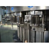 China Three in One Liquid Filling Machine , Carbonated Drink Filling Machine Plant for Gas beverage 110V wholesale