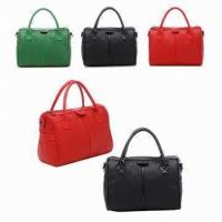 China Red / Green Ladies Leather Briefcase Handbags For Womens Working wholesale