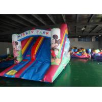 China Mickey Mouse Commercial Inflatable Water Slides With Better Appearance on sale
