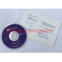 China Microsoft Win 10 Pro OEM French Langauge 64 Bit DVD with Product OEM Key Card Activation Online wholesale