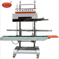 China Nitrogen Sealing Machine DBF-1000 Continuous Cellophane Band Sealer with Nitrogen Flushing on sale