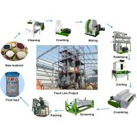 China Poultry Livestock Feed Pellet Production Line 2 - 3t/H Capacity For Farm wholesale