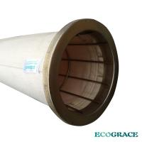 China Baghouse Fabric Dust Collection Filter Bags With Polyester And PTFE Membrance on sale