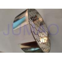 Photo Etched Screen Metal Filter Screen , Hexagonal Hole Wire Mesh Coffee Filter