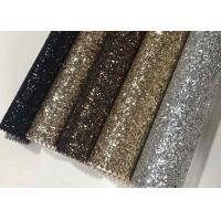 China Single Side Precut Dark Grey Glitter Wallpaper Covering Convenience Unique wholesale