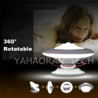 China 0.8w chargable/battery powered led night light projector for christmas gift on sale