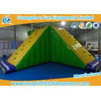 China Amusement Floating Inflatable Water Park Game Inflatable Water Slide Equipments wholesale