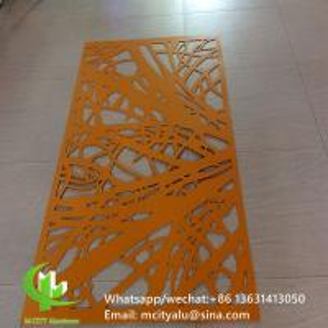 China 2.5mm Thickness Aluminum Perforated Metal Screen Sheet Curtain Wall Facade wholesale