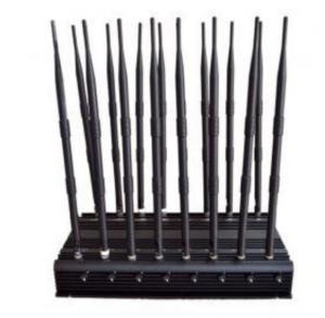 Buy cheap 16 Antennas High Power Jammer CDMA GSM DCS PHS PCS 3G WCDMA 4G LTE from wholesalers