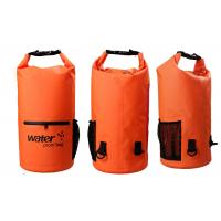 China 20l Heavy Duty Dry Storage Bags 0.5mm Thickness With Mesh / Front Zipper Pocket wholesale