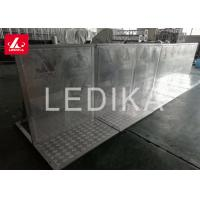 China Hot Selling High Performing Stable Aluminum Folding Crowd Control Gates wholesale