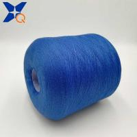 Quality Deep blue Ne21/2plies 10% stainless steel blended 90% polyester for knitting for sale