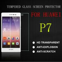 China 0.33mm Oil-proof Tempered Glass Screen Protector For Huawei Ascend p7 wholesale