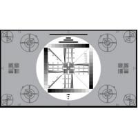 China 3nh TE117 A REFLECTANCE HDTV cameras UNIVERSAL TEST CHART 16:9 for testing 4:3 cameras wholesale