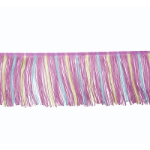 China 4 Grade Polyester 12cm Women Dress Tassel Fringe Trim on sale