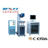 China Desktop Nd YAG Laser Marking Machine 100 Watt Laser Engraver 50-180mm Range on sale