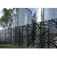 powder coated  decorative laser cut  metal screen     perforated metal Manufactures