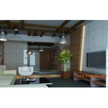 China Facade Interior Fiber Cement Wall Board , Fibre Cement Sheet Cladding Fire Resistant wholesale