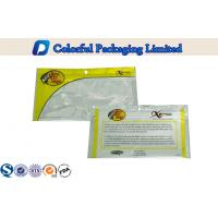China Front Clear Window Glossy printing Fishing Lure Packaging Bags With Zip Lock wholesale