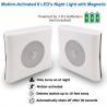 China ABS Motion Sensor Night Lamp / Hotels Battery Powered Motion Night Light wholesale