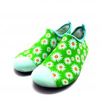 China Outdoor  Ultra - Light Slip On Aqua Shoes Comfortable Water Socks For Swimming wholesale