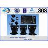 China 2 / 4 / 6 / 8 Holes High Tensile Strength Plain Rail Tie Plate Rail Base Plate wholesale