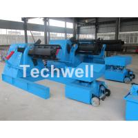 China 7 / 10 / 15 Ton Weight Capacity Steel Coil Decoiler With Adjustable Working Speed wholesale
