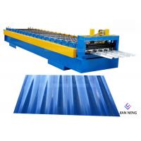 China Galvanized Floor Deck Roll Forming Machine For Industrial Building wholesale