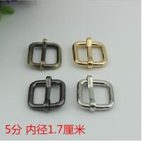 China Factory Price Multi-color 17 mm Iron Metal Tri-Glide School Bag Adjustable Strap Buckle wholesale