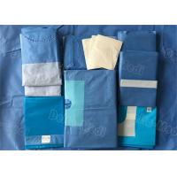China Sterile Hospital Disposable Surgical Packs Comfortable Preventing Liquid / Barrier Bacteria wholesale