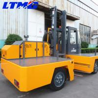 Buy cheap Lifting Height 4800mm Side Load Forklift Electric , Industrial Forklift Truck from wholesalers