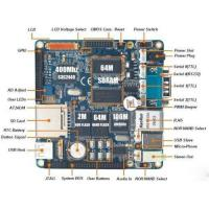 China Samsung S3C2440 ARM9 Board mini2440  FriendlyARM 256MB wholesale
