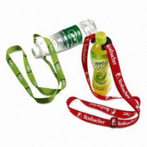 China Bottle holder lanyards, measures 90 x 2cm wholesale