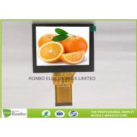 China 4.0'' 320x240 Industrial TFT LCD Display Landscape Type With RGB 24 Bit Interface wholesale