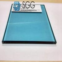China Light Blue Laminated Glass Price 8.38mm 10.38mm 12.38mm wholesale