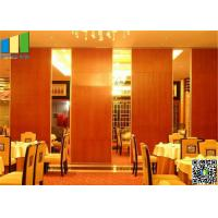 Operable Melamine Folding Partition Walls Manufactures