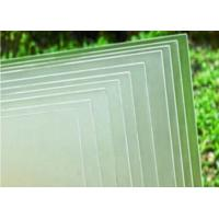 China Ultra Clear Solar Panel Glass 3.2mm Thickness Photovoltaic Transparent Glass on sale