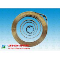 China Custom Stainless Steel Spiral Torsion Spring For Generator Motor / Hinge Mechanisms wholesale