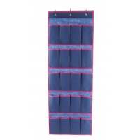 China 20 Breathable Pockets Cozy Organizer Over The Door Shoe Rack wholesale