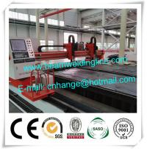 China CNC Plasma Cutting Machine With Dust Collect System , Hypertherm Plasma Cutting Machine wholesale
