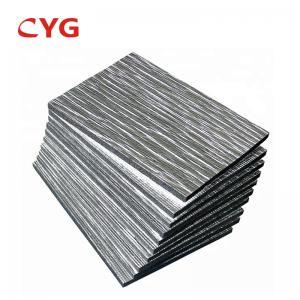 China Aluminum Foil Construction Heat Insulation Foam Hvac Ducting Waterproofing Roll on sale